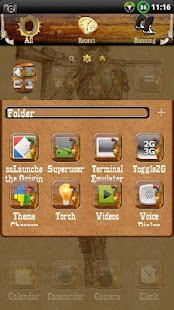 Wild West GO Launcher EX Theme - screenshot thumbnail