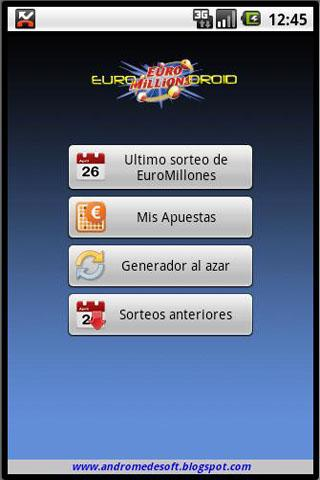 EuroDroid EuroMillions Manager- screenshot