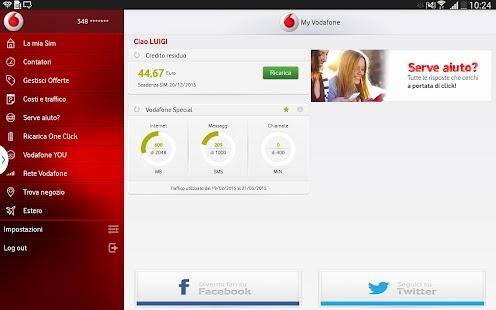My Vodafone - screenshot thumbnail