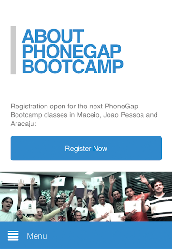 PhoneGap Bootcamp