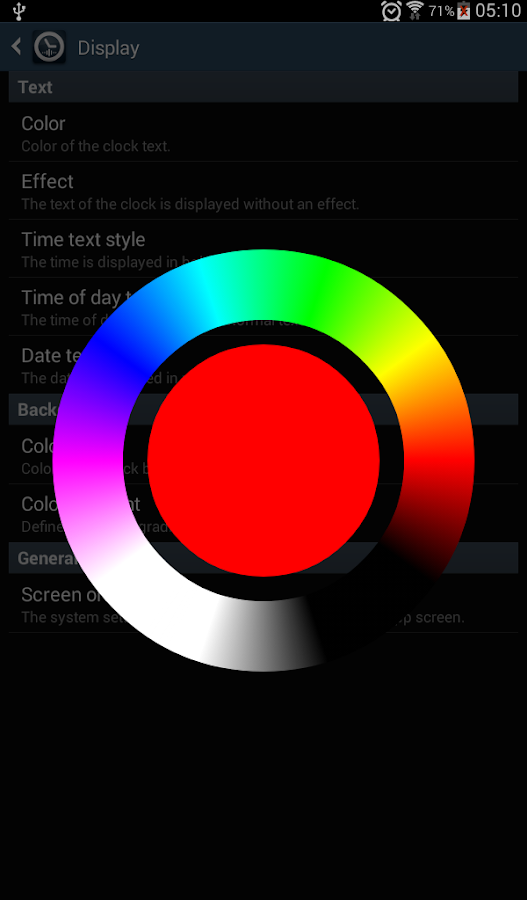Speaking Clock: TellMeTheTime- screenshot