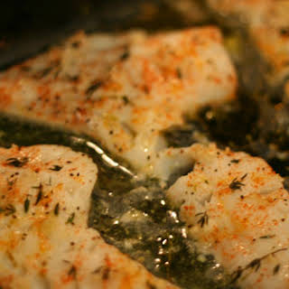 Baked Lemon Herb Cod.