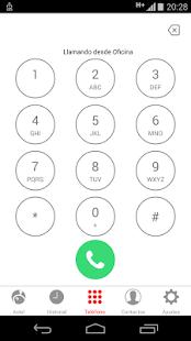 AXTEL Softphone - screenshot thumbnail
