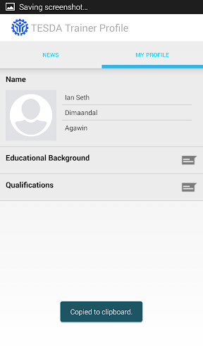 TESDA R4A Trainers Profile