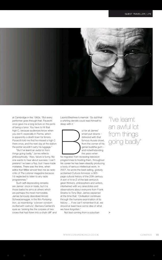 Compass Magazine- screenshot
