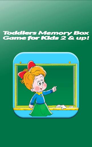 Toddlers Memory Box