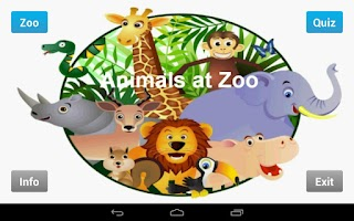 Screenshot of Animals at Zoo