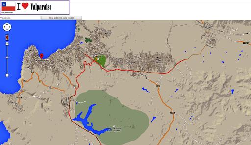 【免費旅遊App】Valparaiso map-APP點子