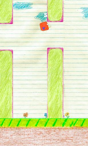 【免費街機App】Flappy Doodle Bird-APP點子