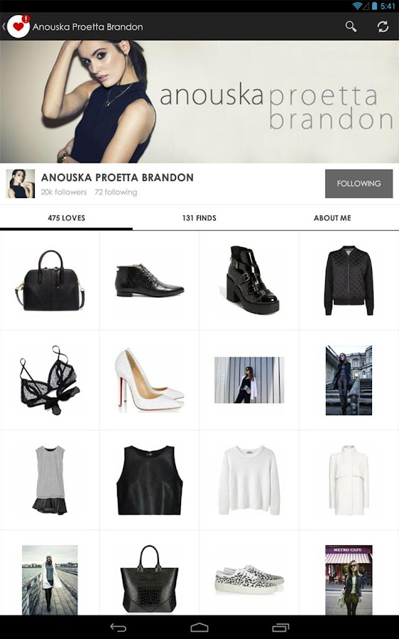 Fashiolista - screenshot