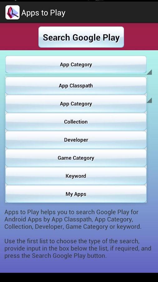 Apps To Play- screenshot