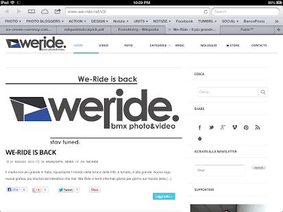 We-Ride.net- screenshot thumbnail