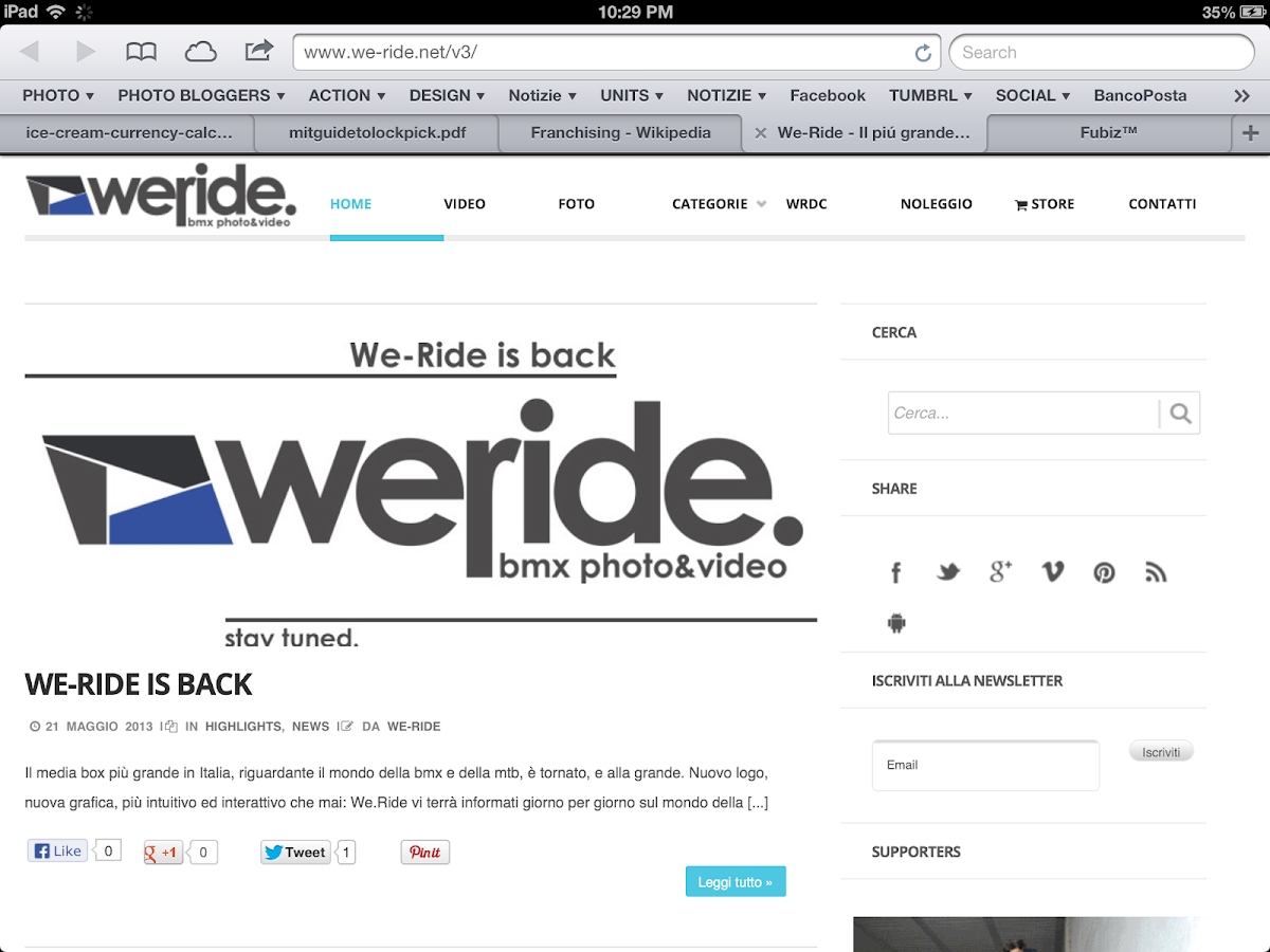 We-Ride.net- screenshot