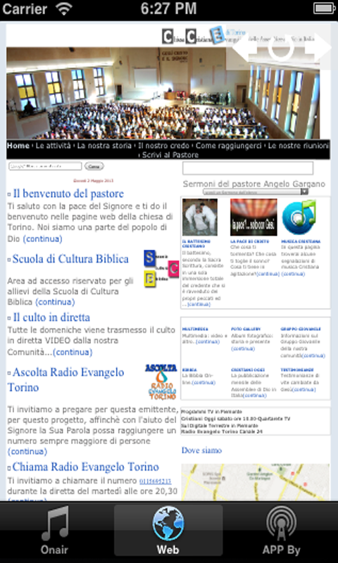 Radio Evangelo Torino- screenshot