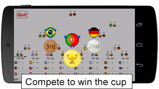 Air Hockey Football Cup- screenshot thumbnail