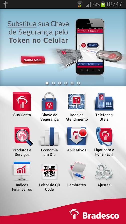 Bradesco - screenshot