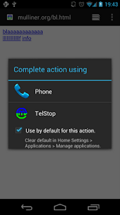 TelStop - screenshot thumbnail