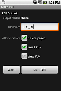 Scan2PDF Mobile- screenshot thumbnail