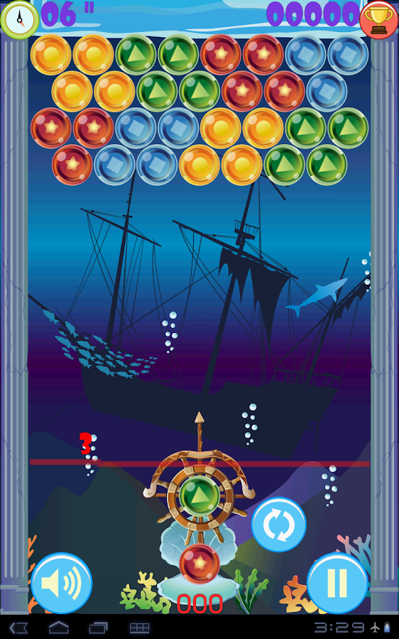 (HD) Ocean Bubble Shooter- screenshot