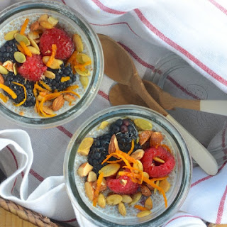 Ginger-Berry Chia Pudding