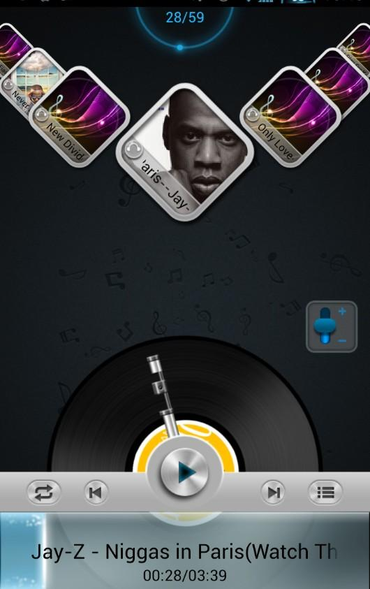 Next Music Widget - screenshot