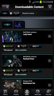 RESIDENT EVIL.NET Mobile - screenshot thumbnail