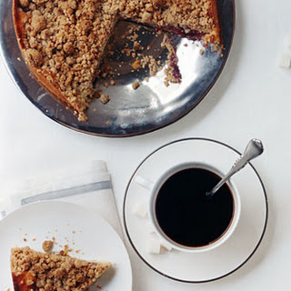 Jam Crumb Cake