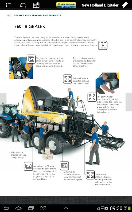 New Holland Ag Brochures - screenshot