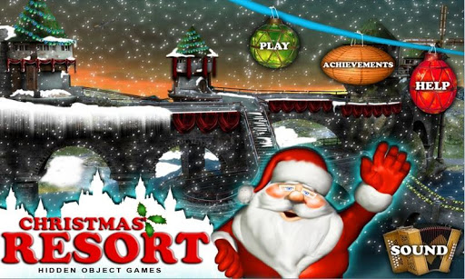 Christmas Resort Hidden Object