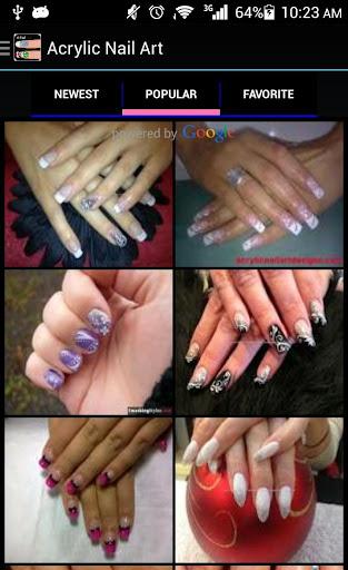 Acrylic Nail Art Designs