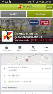 de Korte Sport - screenshot thumbnail