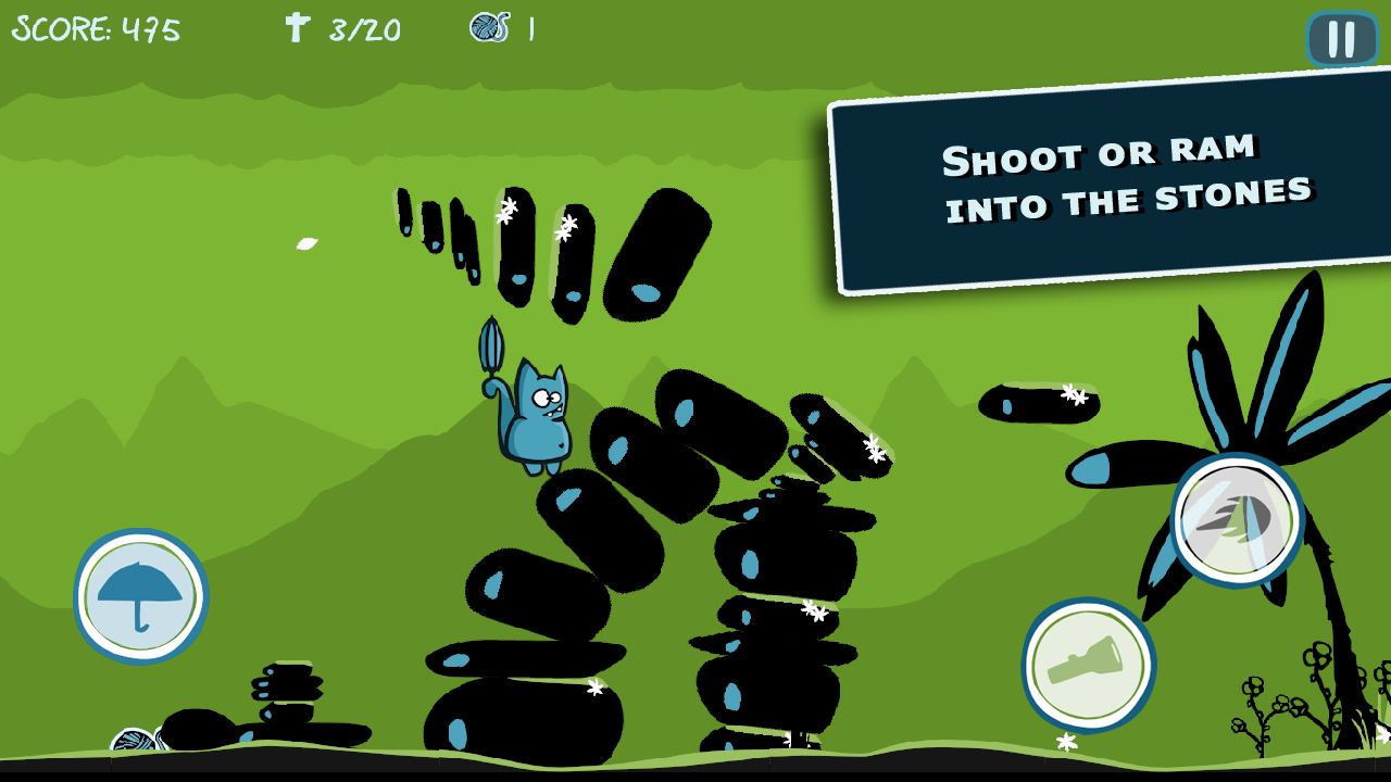 Bronko Blue, the kitten copter- screenshot