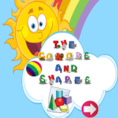 Learn color and shapes english