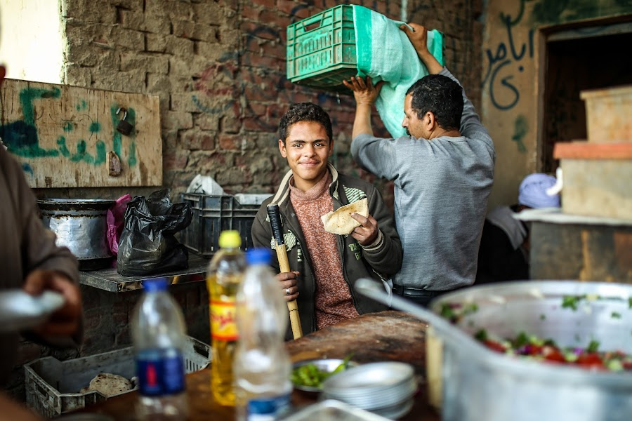 The Breakfast by Mohamed Hamama - People Street & Candids