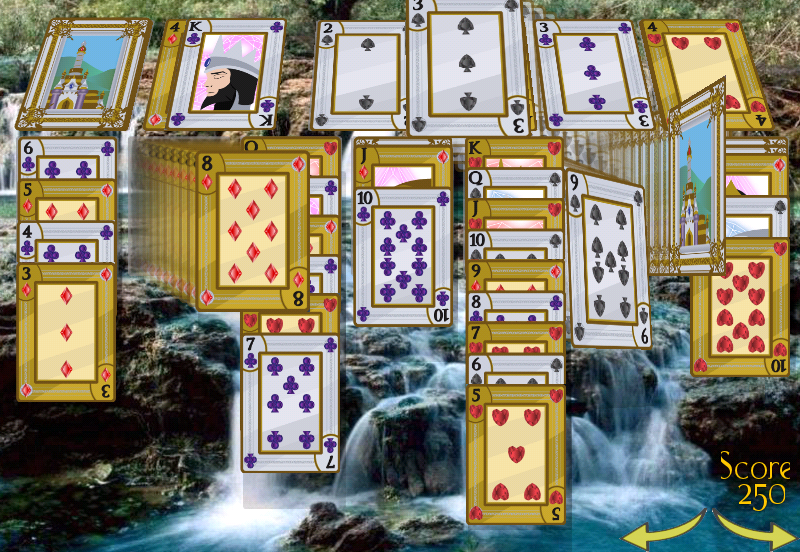 Solitaire 3D - screenshot