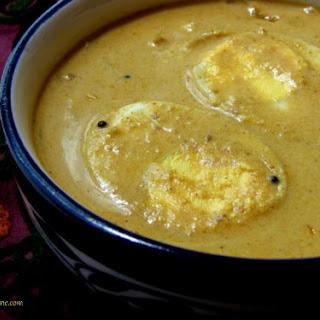 Malabar-Style Egg Curry.