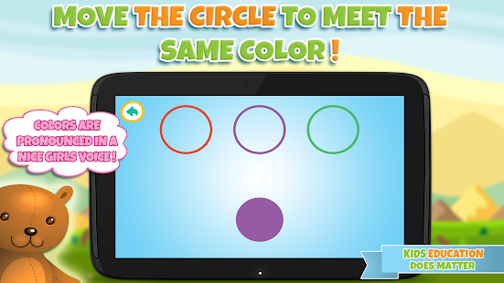 Learning colors for toddlers- screenshot thumbnail