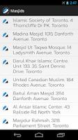 Screenshot of Muslim Adhan and Iqamah Times