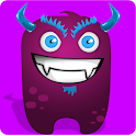 Monster Widget Battery icon