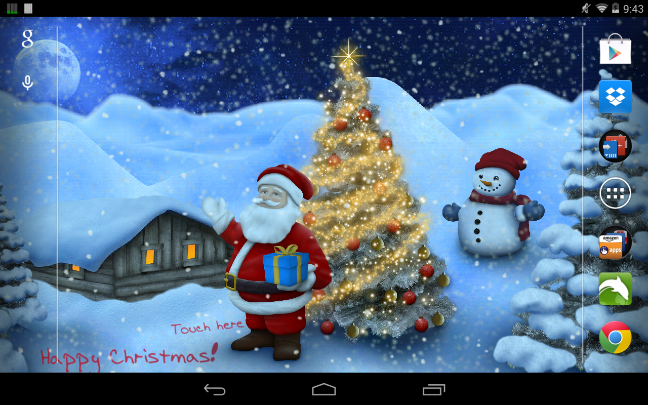 Winter Land Live Wallpaper Pro - screenshot