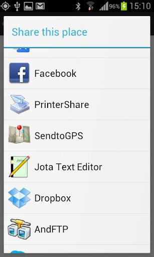 Send To GPS 2.5 screenshots 4