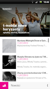 T-Mobile Nowe Horyzonty - screenshot thumbnail