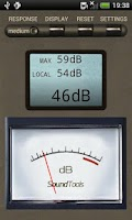 Screenshot of Sound Tools (SPL Sound Meter)