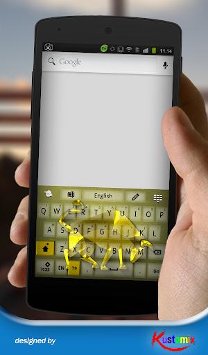 【免費個人化App】Gold Taurus Keyboard-APP點子
