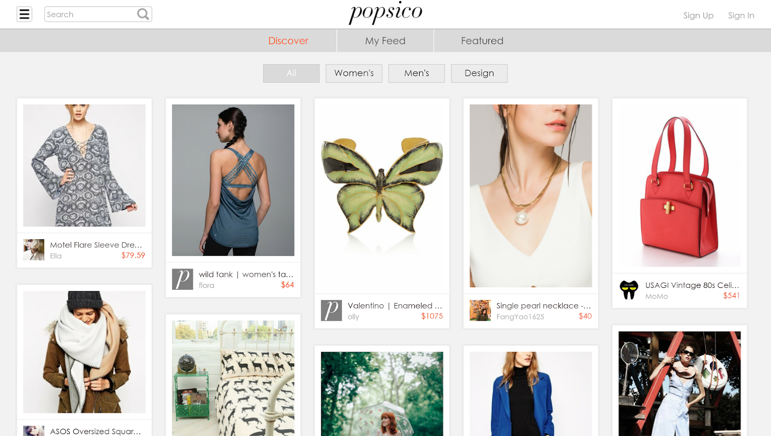 Popsico: Style & Shopping- screenshot