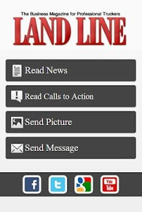 Land Line Mag Daily News - screenshot thumbnail