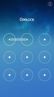 Fancy Blue - App Lock Theme