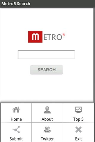 Metro5 Search Engine