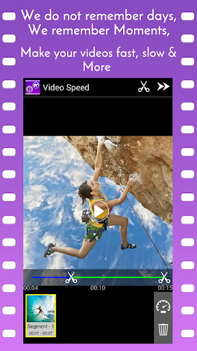Video Speed Slow Motion & Fast  screenshots 1