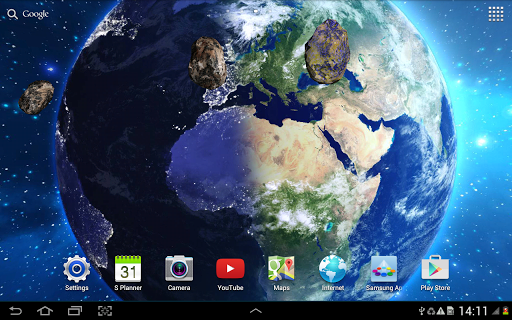 HD Space Live Wallpaper 1.0.8 screenshots 7